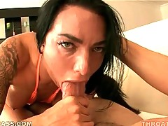 Babe Works Her Skilful Mouth 3
