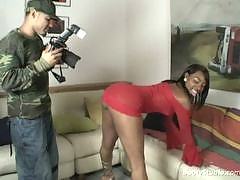 Its a hot ebony audition site where these bootylicious girls wanna become hot pornstars. Theyve got some huge asses and are willing to suck the directors cock in order to appear in his next porno film. Enter inside and see some thick n juicy milk chocolat
