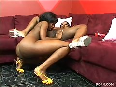 This rare niche site features ebony girls engaged in lesbian sex with each other. Its hard to find a sista who will eat pussy, but these hot dykes definitely do! There is nothing but girl on girl action in some sexy brown sugar lovin inside this mega rare
