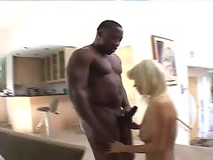 Skinny white bitches are getting probed by meaty black cocks. They love to feel that dark meat splitting apart their sloppy wet pussies. See cute blondes getting a 12 black cock right up their tight assholes.